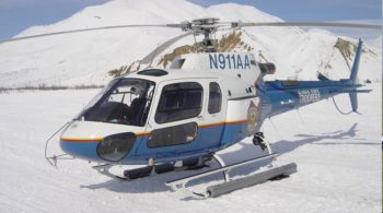 Alaska State Trooper Helicopter